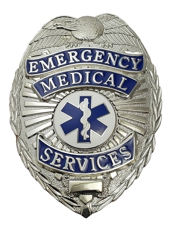 Emergency Medical Services Shield Badge