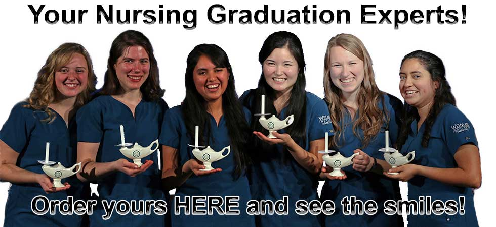 nursing graduation lamps for every budget