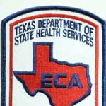 Texas Uniform EMS Patches