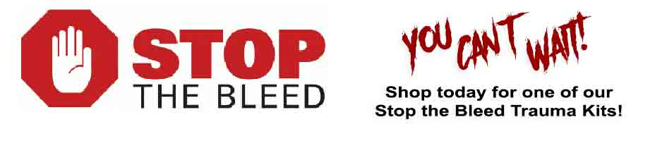 stop the bleed kits and supplies to help save lives in shooting and other bleeding emergencies