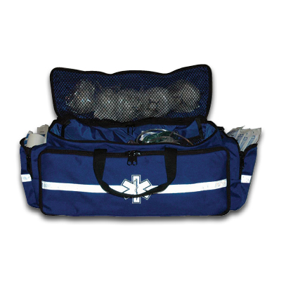 Large EMS O2 Duffle Kit Royal Blue (Filled)