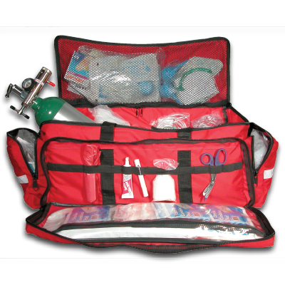 Large EMS O2 Duffle Kit Red