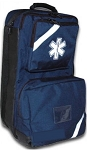 O2 / Trauma / AED Backpack (Navy) Empty Bag
