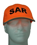 SAR Cap with Reflective Stripe