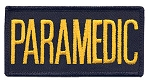 PARAMEDIC Chest Emblem Gold/Navy Blue