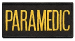 PARAMEDIC Chest Emblem Gold/Black