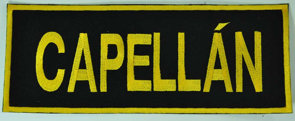 Capellán Back Patch
