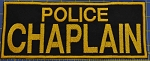 Police Chaplain Chest Patch