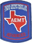 Texas AEMT Patch - Color