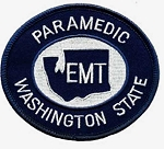 Washington State Paramedic Midnight Navy / White Patch