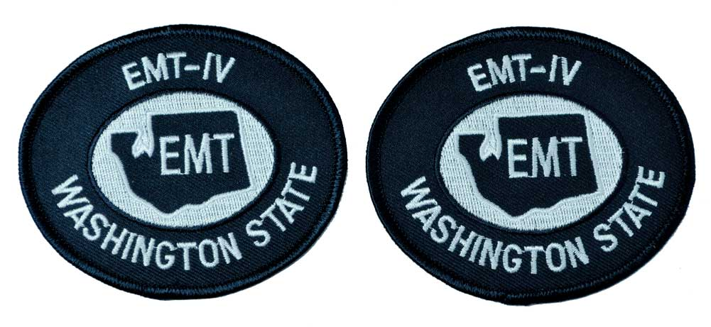 Washington State EMT-IV Midnight Navy / White Patch