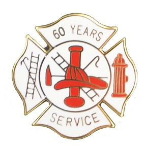 60 years Fire Service Pin (Coming Soon)