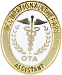 Occupational Therapy Assistant Pin