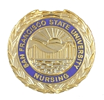 San Francisco State Nursing Pin