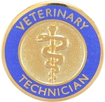 Veterinary Technician Graduation Pin