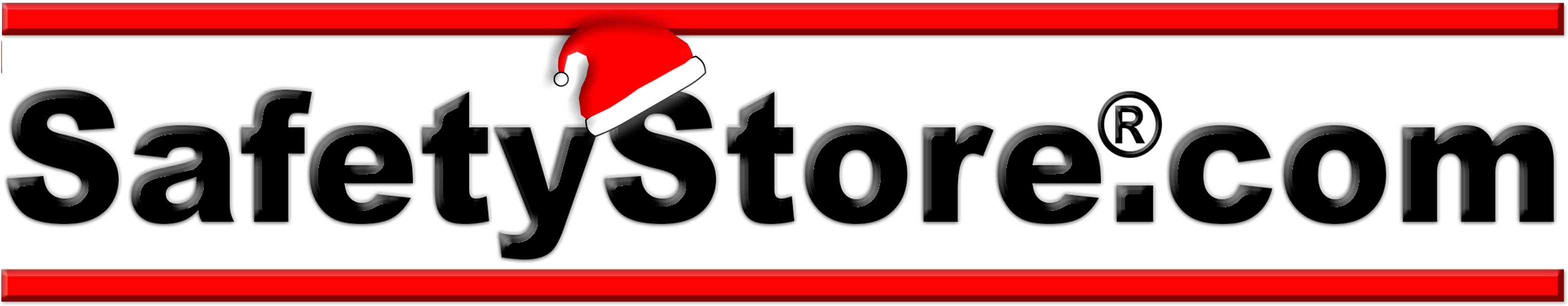 Happy holidays from safety store main logo