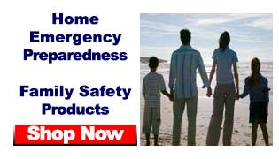 family emergency preparedness kits and supplies for home, school and car