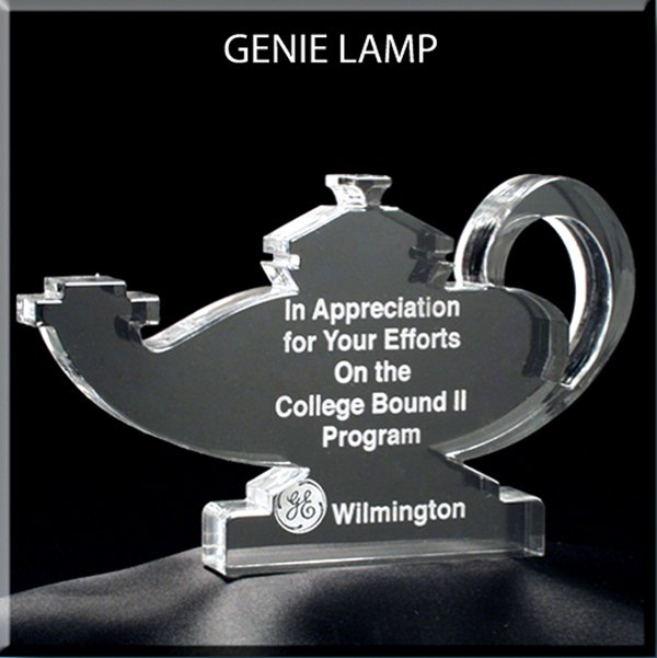 Nursing Lamp Award Small