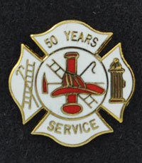 55 years Fire Service Pin (Coming Soon)
