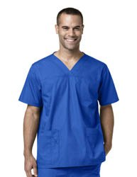 CARHARTT Men's Multi-Pocket Utility Scrub Top medical scrub