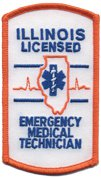 Illinois EMT Patch