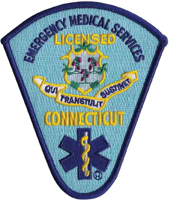Connecticut Licensed EMS Patch