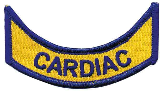 Virginia Cardiac Rocker Patch