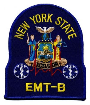 New York EMT-B Patch
