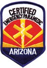 Arizona Paramedic Patch