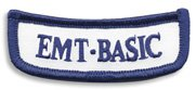 Georgia EMT-Basic Rocker Patch
