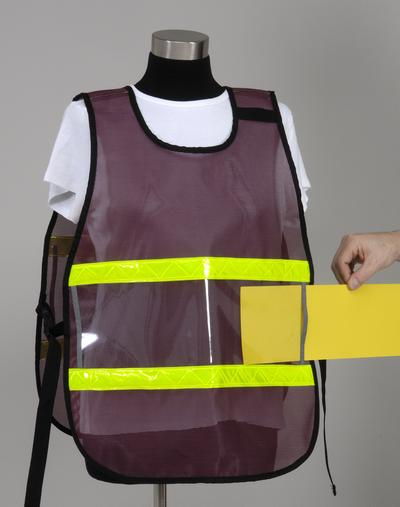 Model #PON3-VW Poncho Style Incident Command System Window Vest