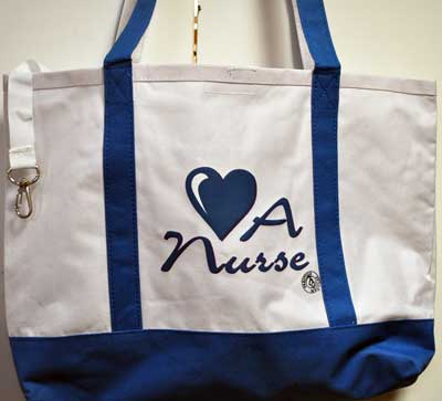 Love a Nurse Totebag