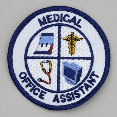 Embroidered Patch - Medical Office Assistant Patch