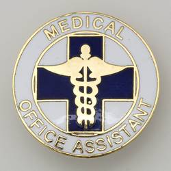 Medical Office Assistant Emblem Pin
