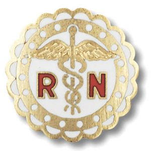 RN Pin -round sculptured edge