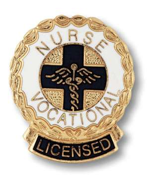 Licensed Vocational Nurse Pin LVN