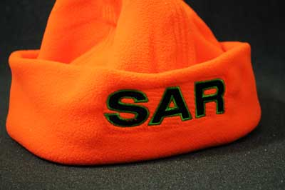 Hi-viz Search and Rescue Micro Fleece SAR Cap