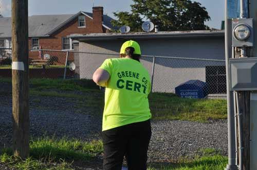 Greene County, VA CERT Shirt