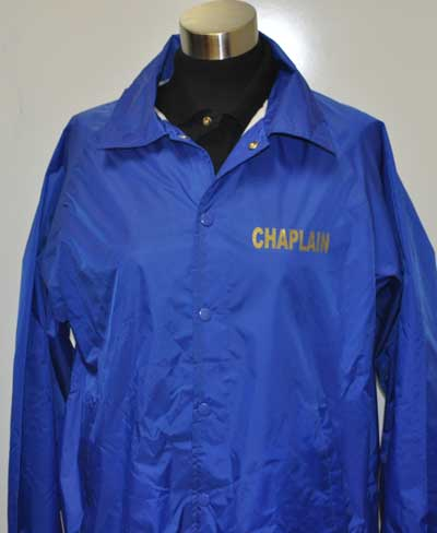 Latin University of Theology Chaplain  Windbreaker Jacket