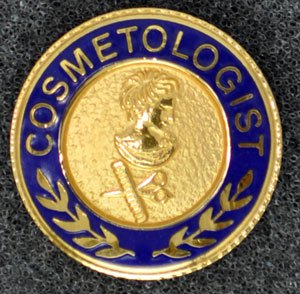 Cosmetology Graduation Pin