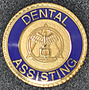 Dental Assisting Graduation Pin
