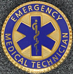 Emergency Medical Technician Graduation Pin