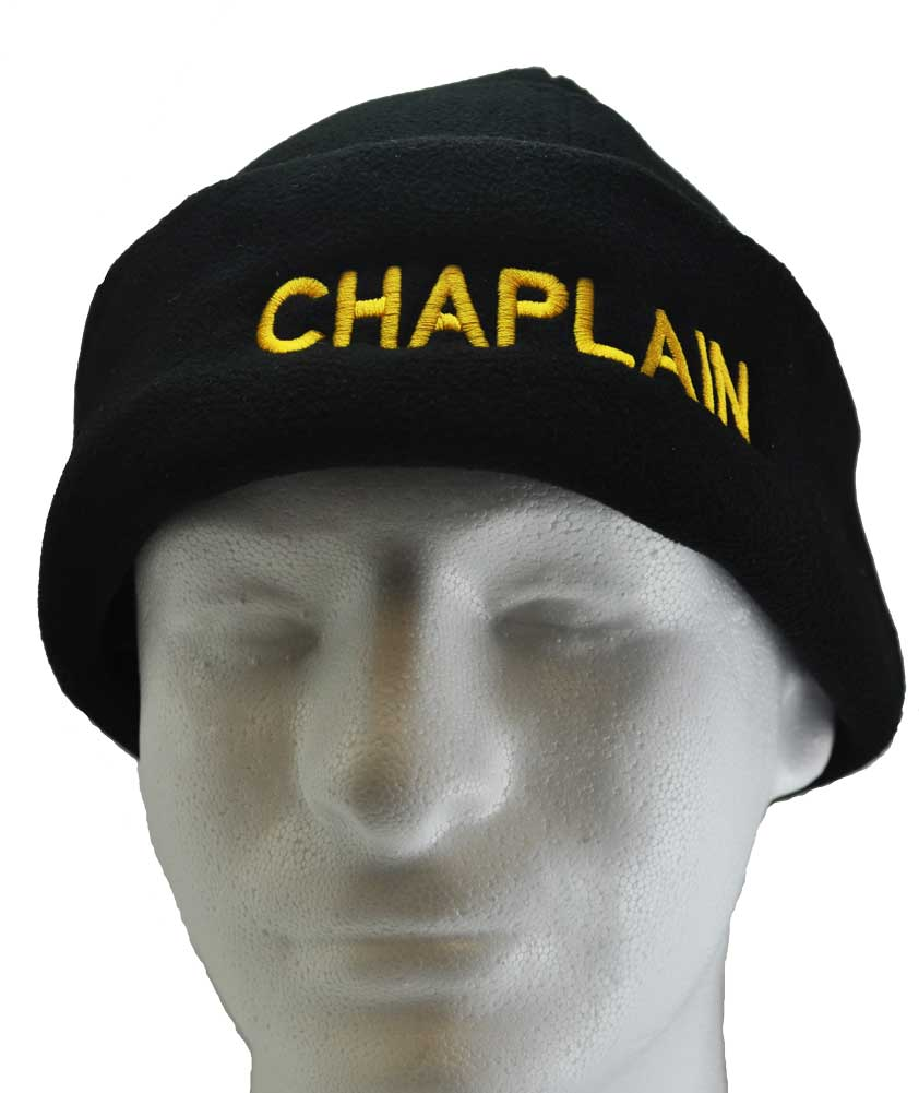 Chaplain Micro Fleece Cap