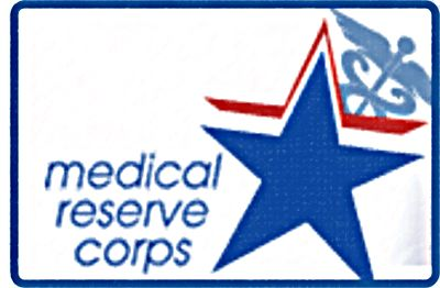 Embroidered Patch - Large Medical Reserve Corps Patch
