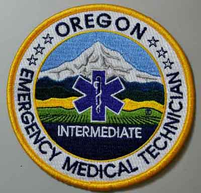 Oregon EMT Intermediate Patch