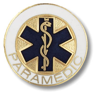 Paramedic Star of Life Pin