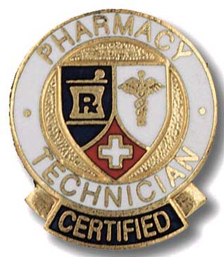 Certified Pharmacy Technician Pin