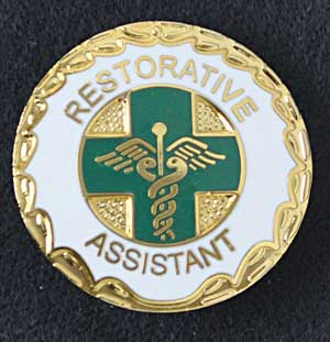 Restorative Assistant Pin