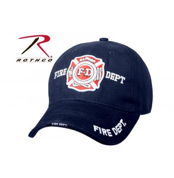 Fire Department Low Profile Cap
