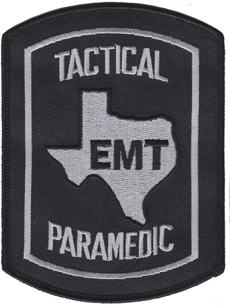 Texas Tactical Paramedic Embroidered Patch